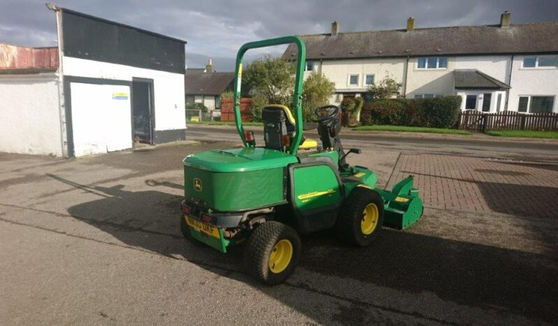 John Deere 1545 4wd with Major Out-Front Flail Mower full